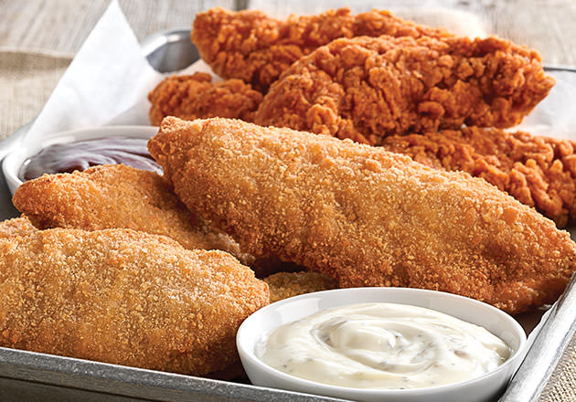 Culver's Chicken Tenders and Buffalo Tenders