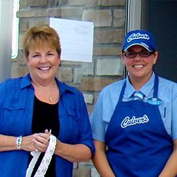 Glenda Woosley and Maggie Kauer - Owner-Operators of two Culver's restaurants, Wisconsin