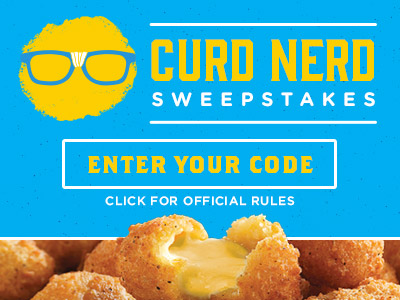 Curd Nerd Sweepstakes - Enter Your Code
