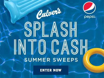 Splash Into Cash Summer Sweeps - Enter Your Code