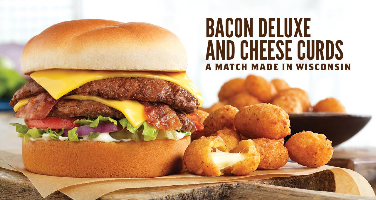 Bacon Deluxe and Cheese Curds - a Match Made in Wisconsin