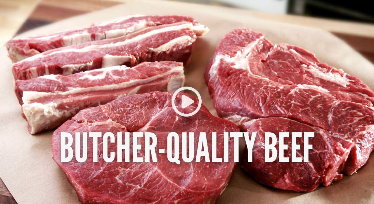 Butcher-Quality Beef