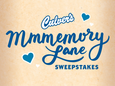 Memory Lane Sweepstakes