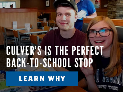 Why Culver's is the Perfect Back-To-School Stop