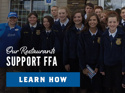 How Our Restaurants Support FFA