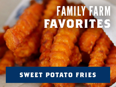 Family Farm Favorites - Sweet Potato Fries