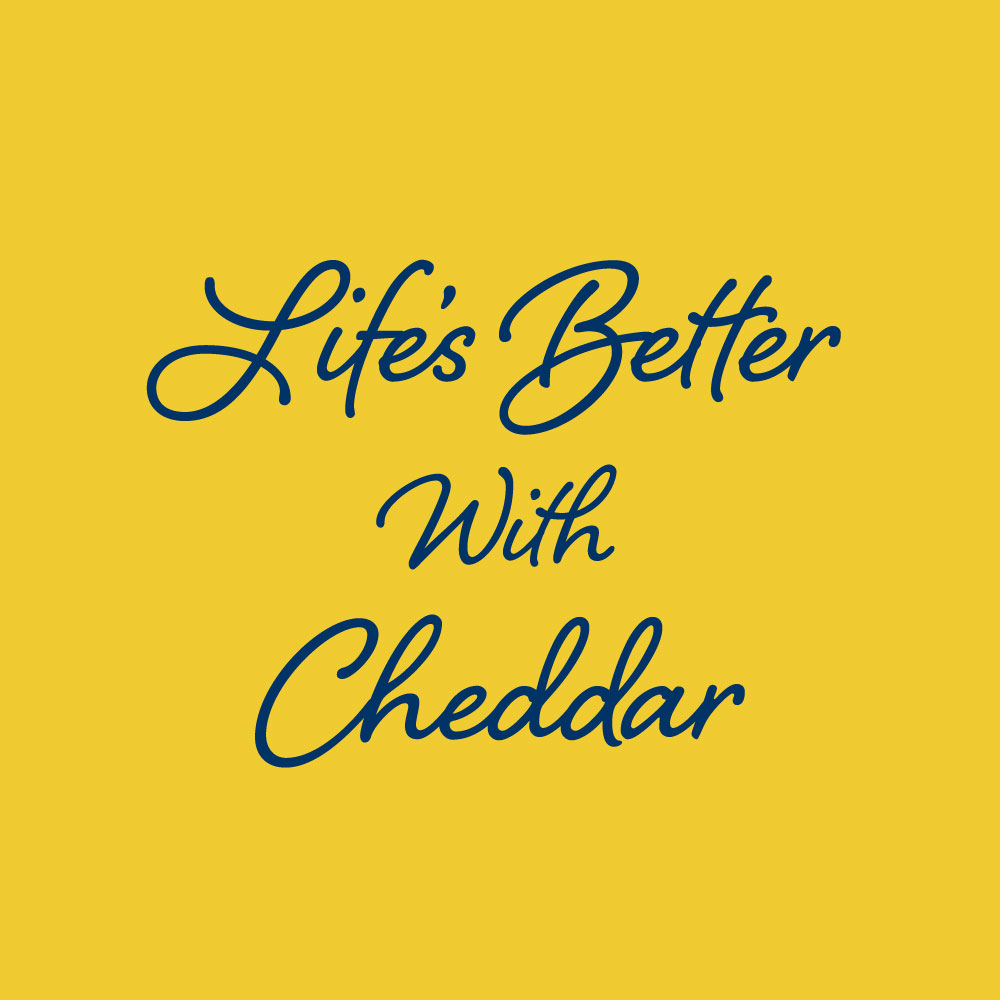 Life's better with Cheddar: View more on instagram