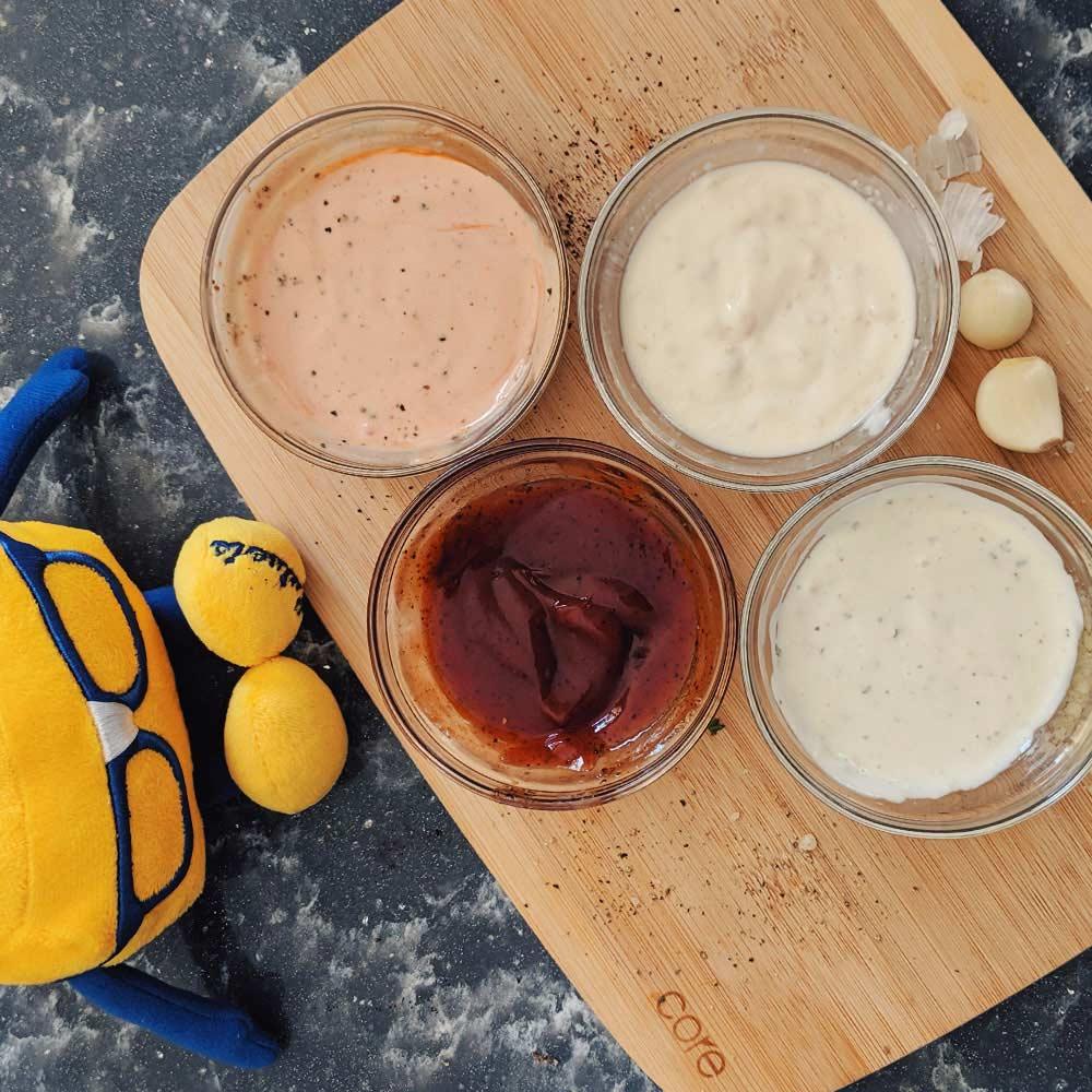 View Post: DIY Cheese Curd Dippin' Sauce 4 Ways