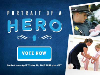 Portrait of a Hero - Vote Now