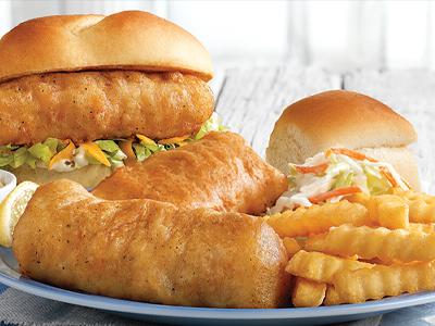 Wild-Caught Cod Dinner