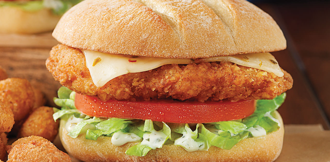 Crispy Southwest Chicken Sandwich
