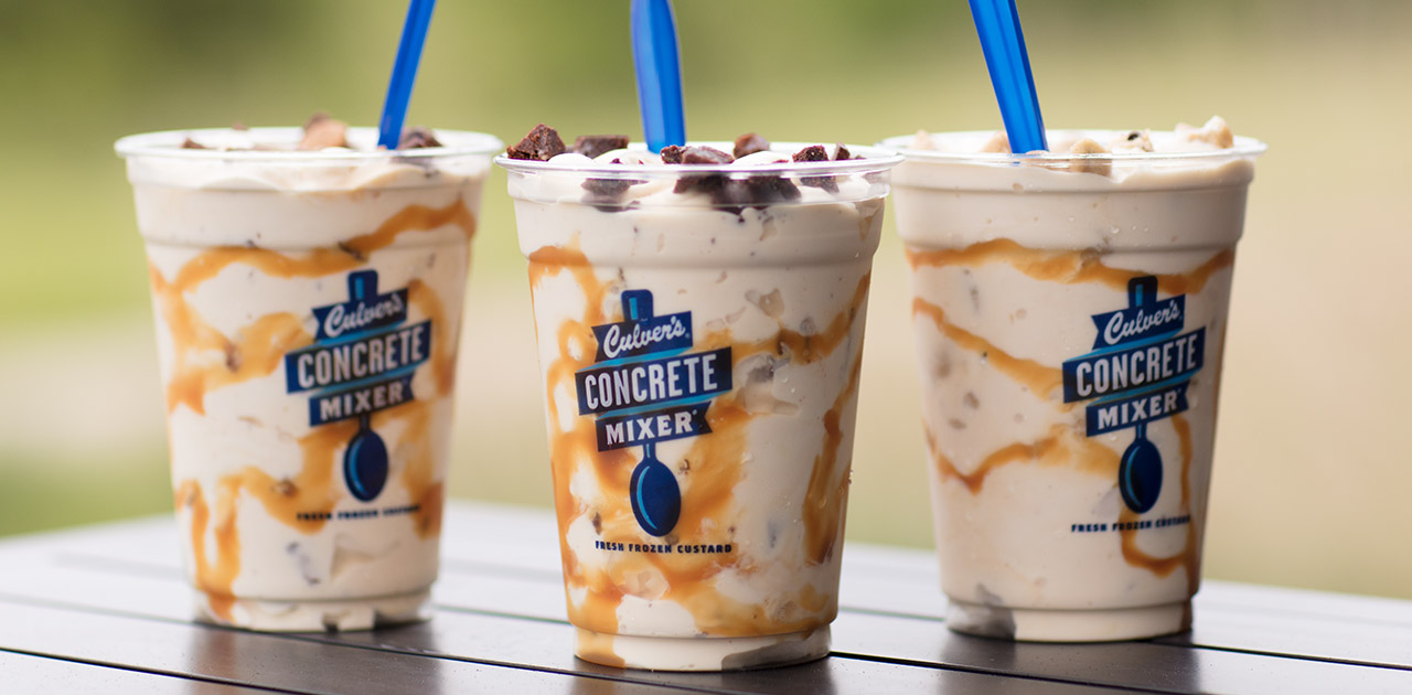 Salted Caramel Concrete Mixers