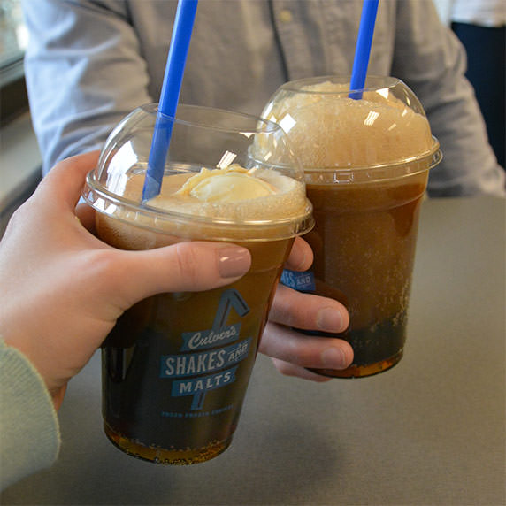 Culver's Root Beer Floats