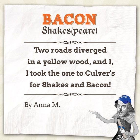 Bacon Shakespeare Poem by Anna M.