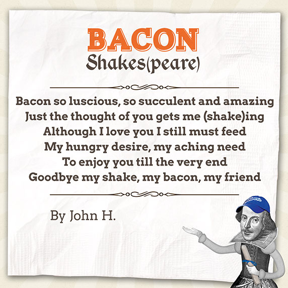 Bacon Shakespeare Poem by John H.
