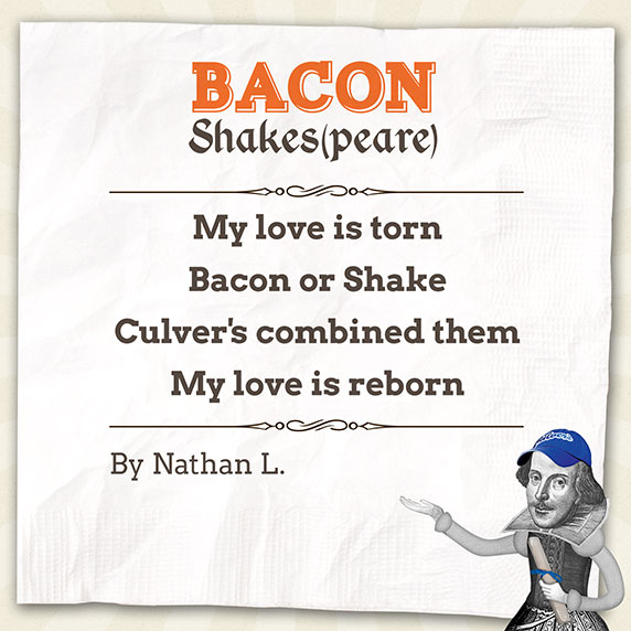 Bacon Shakespeare Poem by Nathan L.