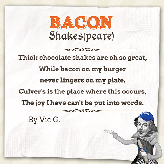 Bacon Shakespeare Poem by Vic G.