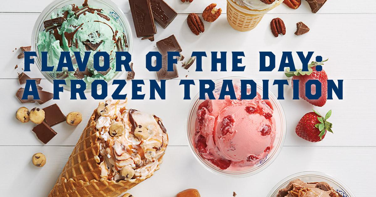 vans frozen custard flavor of the day