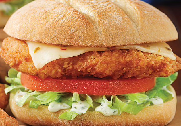 Crispy Southwest Chicken Sandwich