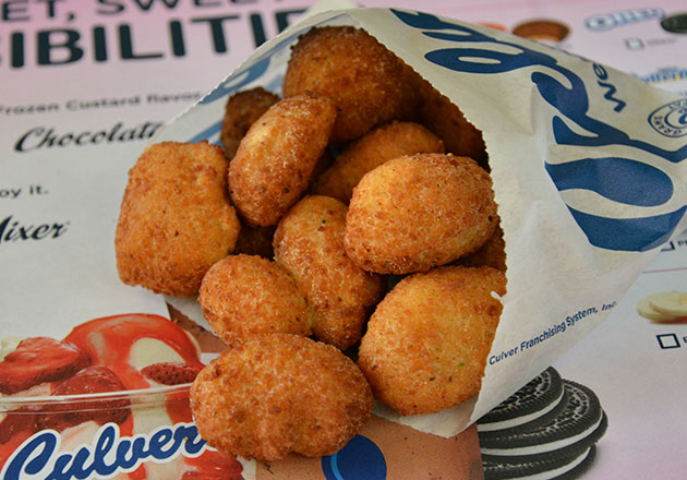 Photo of cheese curds.