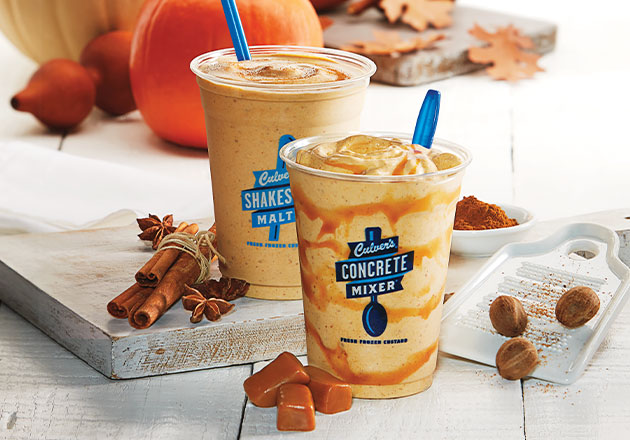 Photo of Pumpkin Concrete Mixer and Pumpkin Malt