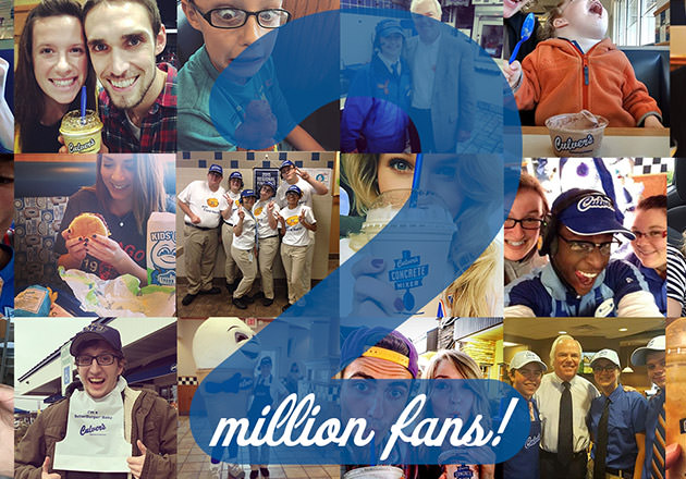 Culver's Celebrates a Social Media Milestone: Two Million Fans