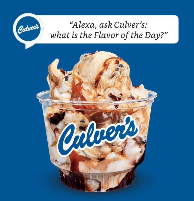Culver's Skill for Alexa Enabled Devices