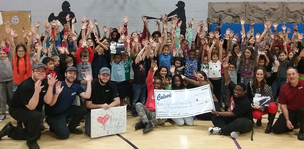 Culver's Teams Up With Local Boys & Girls Club to Make an Impact