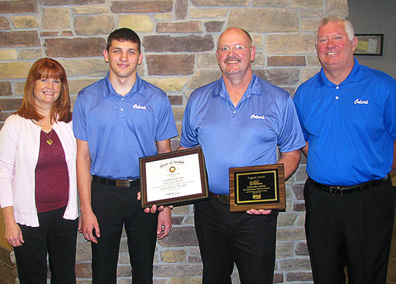 Franchisee Surprised with Award for Customer Service