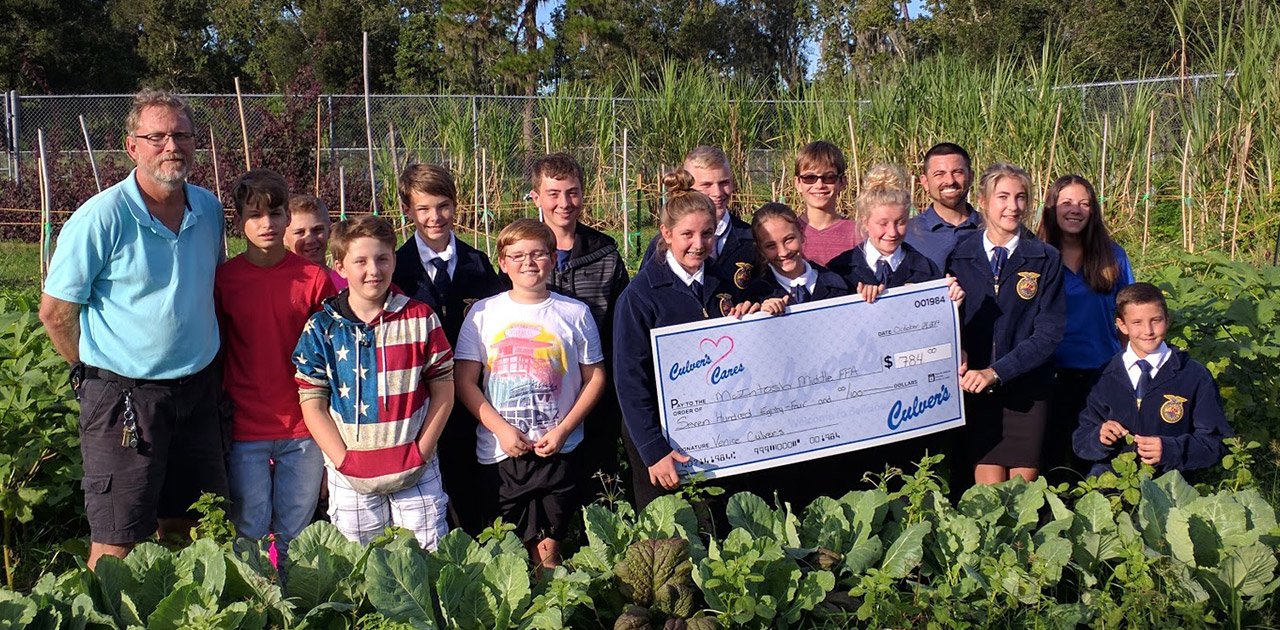 Florida FFA Chapter Grows Food for School