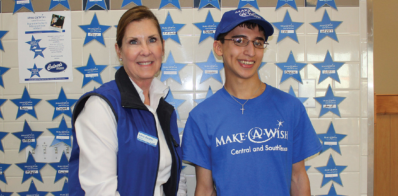 Culver's of Kerrville Helps Grant a Wish for Local Teenager