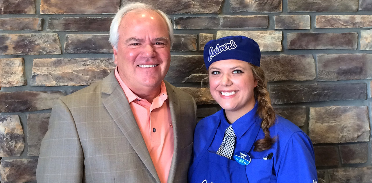 Culver's Franchisee Turned After School Job Into a Career