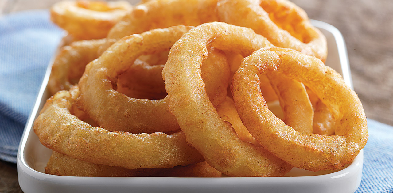 Onion Rings: By the Numbers
