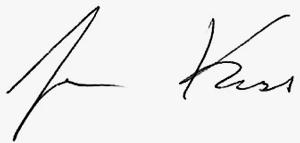 Joe Koss signature