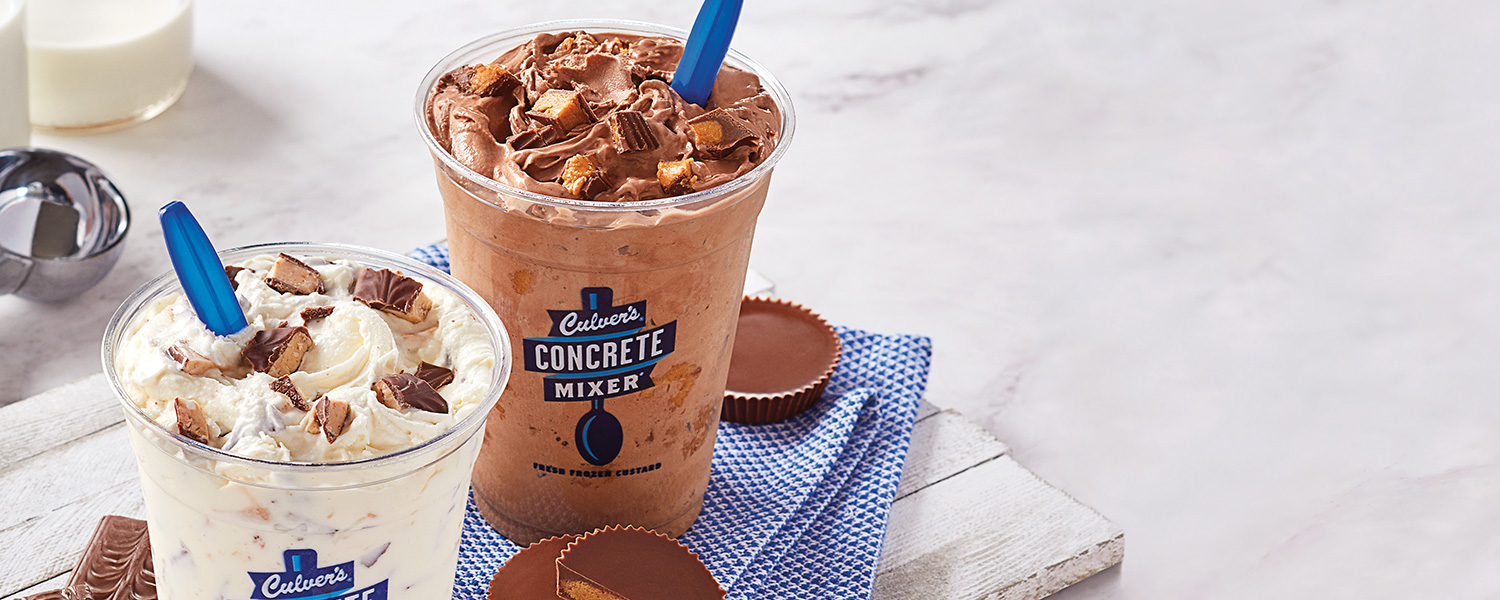 Concrete Mixers made with Reese's®