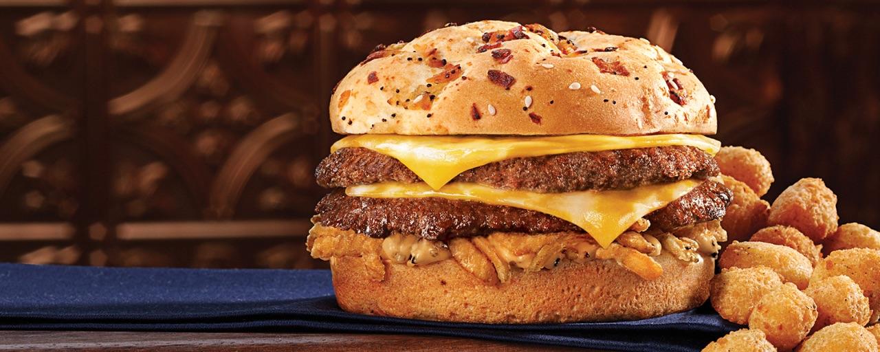 Colby Jack Pub Burger