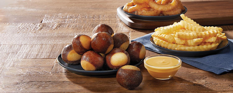 Pretzel Bites with Wisconsin Cheddar Cheese Sauce