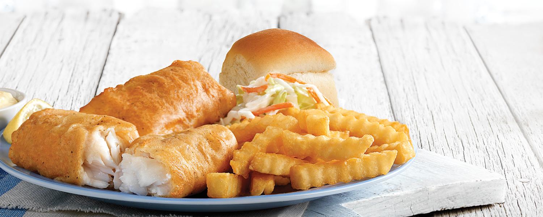 Culver's North Atlantic Cod Dinner