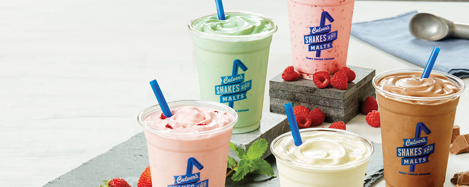 Culver's Shakes, Malts and Floats
