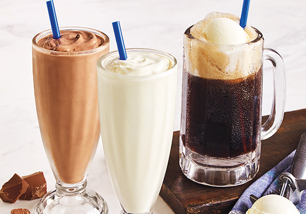 Shakes, Malts & Floats