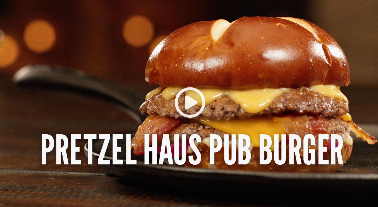 Pretzel Haus Pub Burger