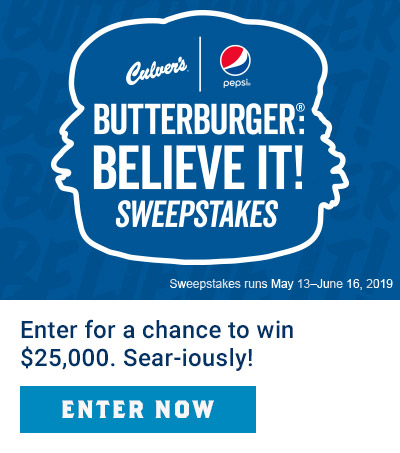 ButterBurger: Believe It! Sweepstakes - Enter Now