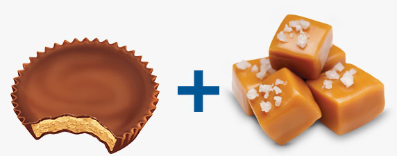 Reese's Peanut Butter Cups and Caramel