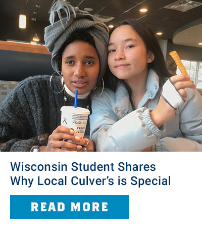 Shorewood High School Student Shares Why Culver's Means A Lot to Her