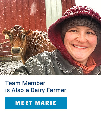 Team Member is Also a Dairy Farmer