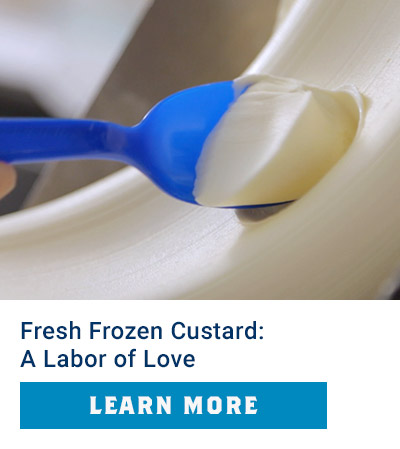 Culver's Cravings: Fresh Frozen Custard: It's a Labor of Love