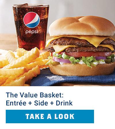 Value Basket: Entrée + Side + Drink