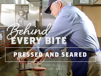 Behind Every Bite: Pressed and Seared to Perfection