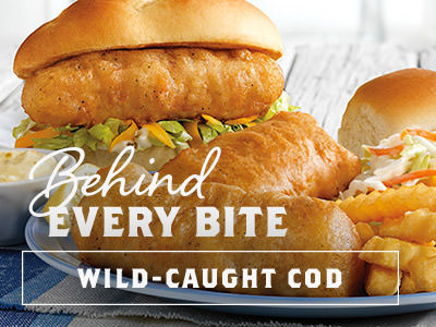Behind Every Bite - Wild-Caught Cod