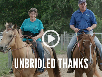Unbridled Thanks
